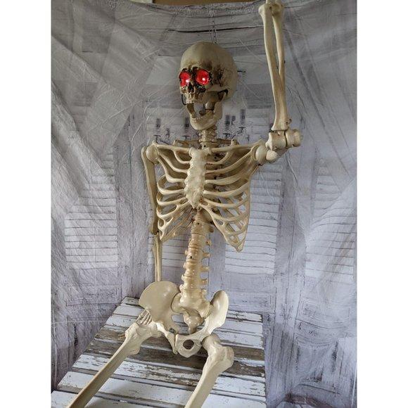 pan Asian life-size light up skeleton Halloween de